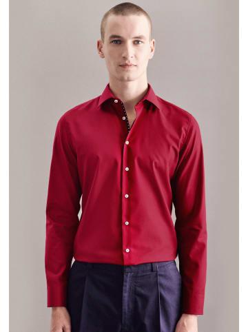 Seidensticker Business Hemd Slim in Rot