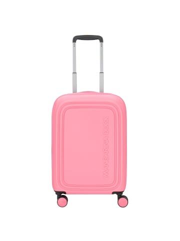 Mandarina Duck Logoduck 4-Rollen Kabinentrolley 56 cm in hot pink