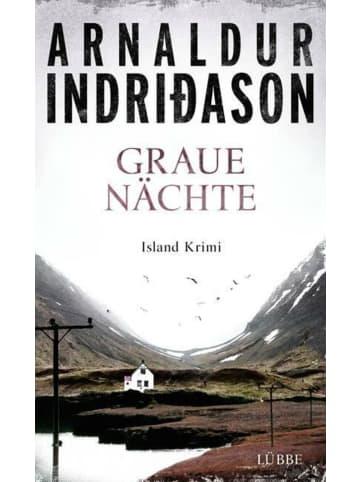 Lübbe Hardcover Graue Nächte | Island-Krimi