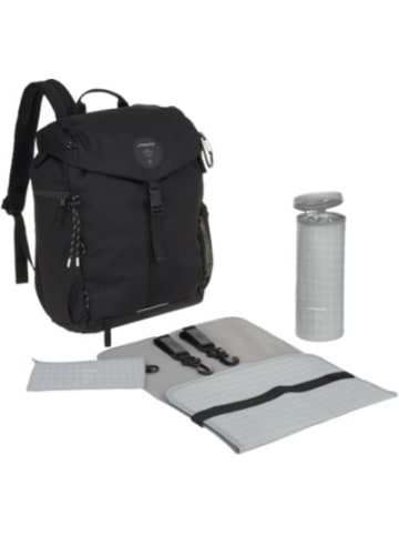 Lässig Wickelrucksack, Outdoor Backpack, black