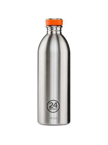 24Bottles Basic Urban Trinkflasche 1000 ml in steel