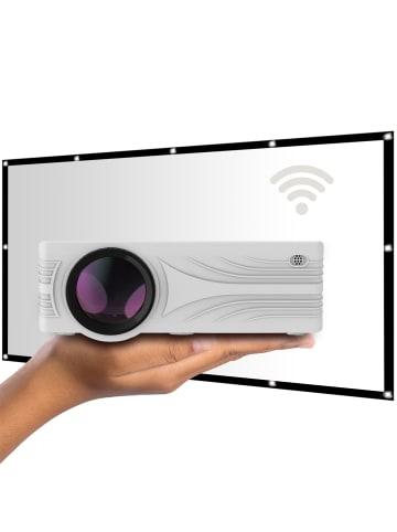 LA VAGUE Beamer LV-HD240 Wi-Fi BUNDLE in weiß