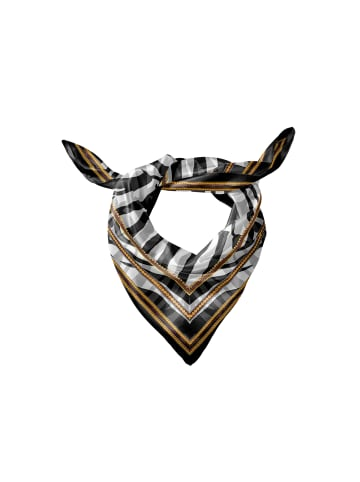 Keola Modalseidentuch in Zebra