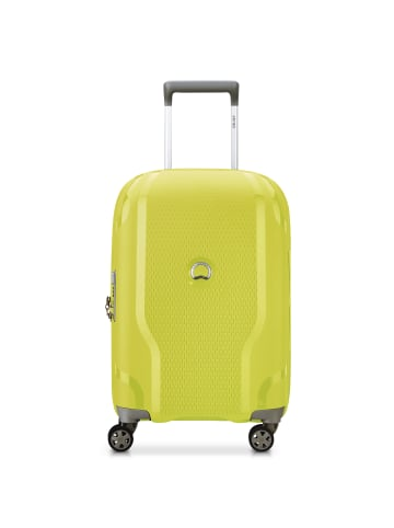Delsey Clavel 4-Rollen Kabinentrolley 55 cm in limone