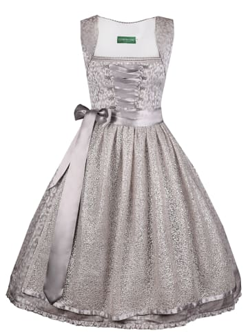 Country Line Midi Dirndl in Silber