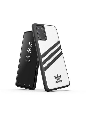 "Adidas Moulded Case ""Moulded Case PU white/black"" für Galaxy S20+ in weiß"
