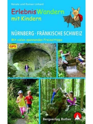 Bergverlag Rother ErlebnisWandern mit Kindern Nürnberg - Fränkische Schweiz