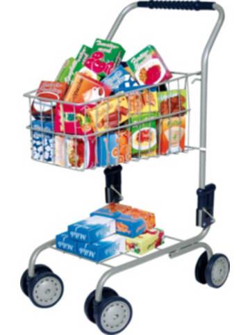 Bayer Design Einkaufswagen, gefüllt, 60-tlg.