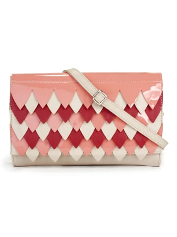 Tris Abendtasche/ Clutch GRACE in coral