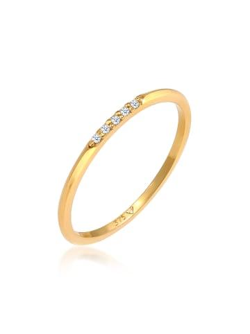 Elli DIAMONDS  Ring 375 Gelbgold Microsetting in Gold