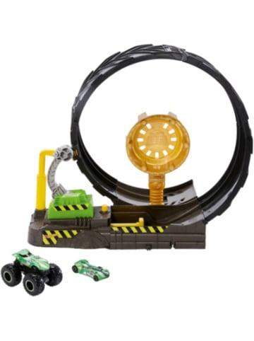 Mattel Hot Wheels Monster Trucks Looping-Challenge Spielset inkl. 2 Spielzeugautos