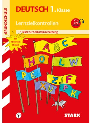 Stark Lernzielkontrollen Grundschule, Deutsch 1. Klasse, m. MP3-CD