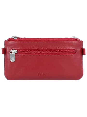 Esquire New Silk Schlüsseletui Leder 13 cm in rot