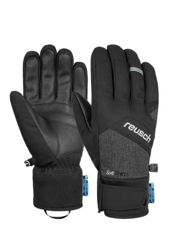 Reusch Fingerhandschuh Luke R-TEX® XT in black / black melange