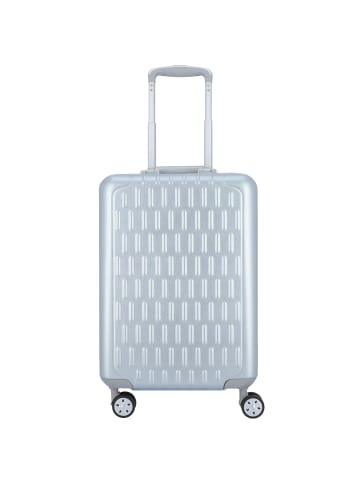 March15 Trading Discovery 4-Rollen Kabinentrolley 55 cm in silver alu