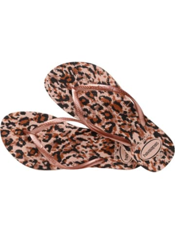 Havaianas Zehentrenner SLIM ANIMALS BALLET ROSE