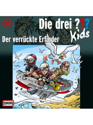 United Soft Media Die drei ???-Kids - Der verrückte Erfinder, Audio-CD