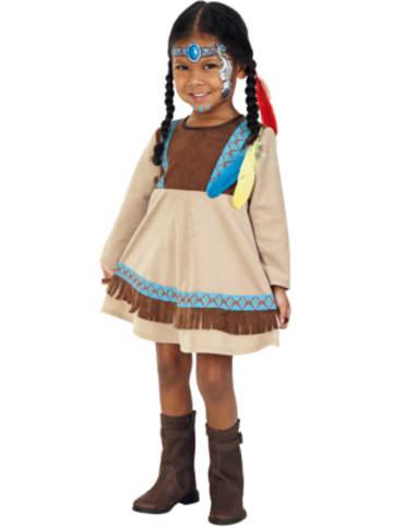 Kunterbunt Kostüm Indianer Kleine Feder