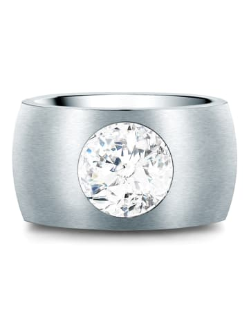 Stella Copenhagen Ring Edelstahl verziert mit Kristallen von Swarovski® in Silber in silber