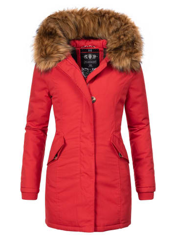 Marikoo Wintermantel Karmaa-Prc in Rot