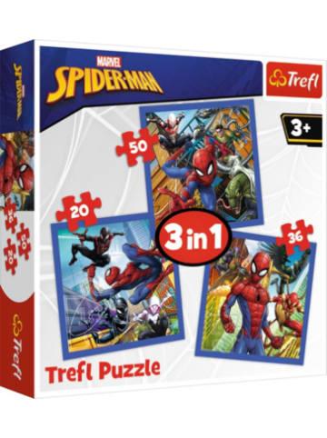 Trefl Puzzle 3 in 1 - Spider force - Disney Marvel Spiderman