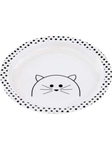 Lässig Kinderteller rutschfest, Little Chums Cat white
