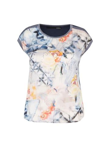 LeComte Shirt mit Print und Glitzereffekt in Night Sky