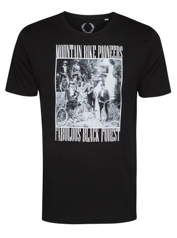 Nastrovje Potsdam T-Shirt Mountain Bike Pioneer in schwarz