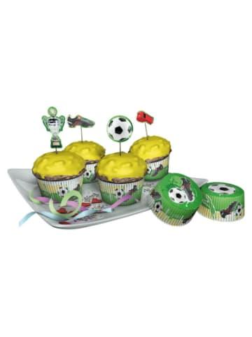 Dekoback Muffinset Fußball, 48-tlg.