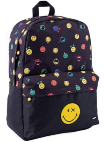 Smiley Freizeitrucksack mit Vortasche Smiley World Crazy Things, 23 Liter