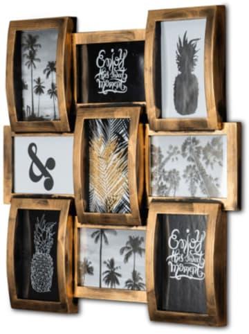 Tawo Wand-Bilderrahmen für 9 Fotos 45x3,5x45cm