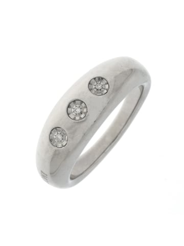 """Morellato Ring """"mit 3 Diamanten"""" in silber und weiß"""