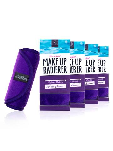 Der original MakeUp Radierer 4er Set: MakeUp Radierer Tuch in Lila