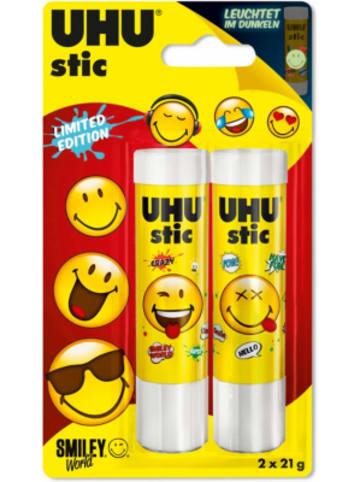 UHU stic Smiley, 2 x 21 g
