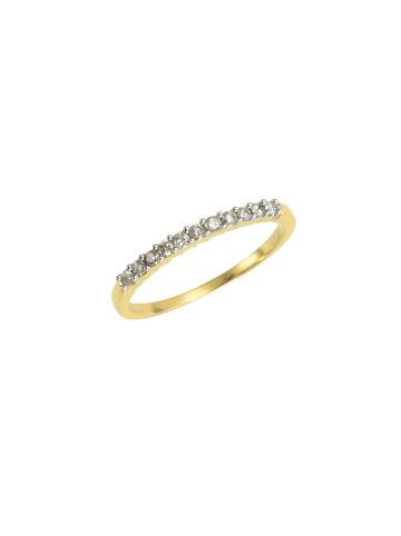 Diamonds by Ellen K. Ringe 585/- Gold in gelb