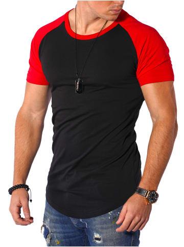 Behype T-Shirt Rio in schwarz