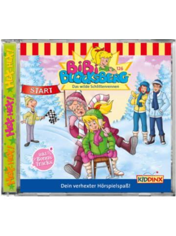 KIDDINX CD Bibi Blocksberg 126 - Das wilde Schlittenrennen