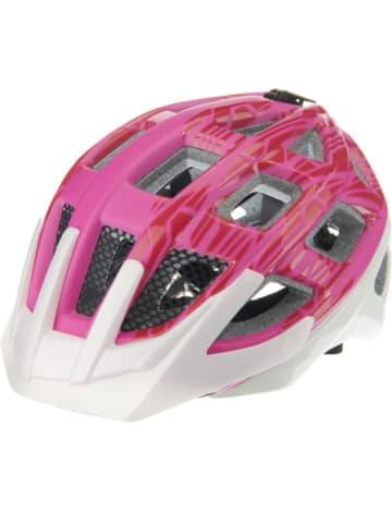 KED Fahrradhelm Kailu, pink-weiß