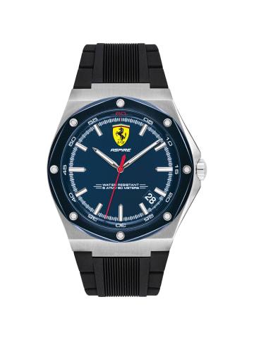 Scuderia Ferrari Analog Uhr 'Aspire' in Blau/Schwarz