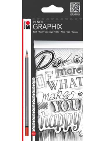 Marabu Bleistifte 12er sort. Pencil, 12 Härten