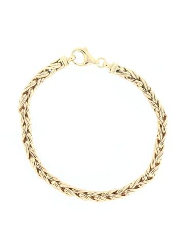 """Luxxos Flechtarmband """"19 cm aus 375 Gelbgold"""" in gold"""