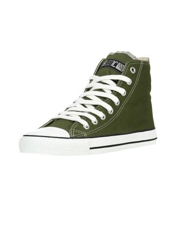 Ethletic Sneaker Hi Fair Trainer White Cap in camping green | just white