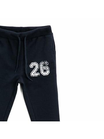 Mamino Kindermode Jungen Jogginghose -26 in dunkelblau