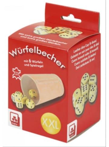 Nürnberger Spielkarten Würfelbecher XL mit Würfeln