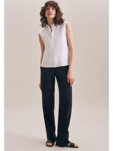 Seidensticker Hemdbluse Slim fit in Weiß