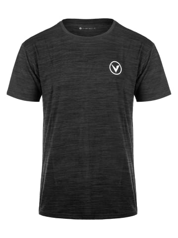 Virtus Funktionsshirt JOKER MELANGE in 1001S Black