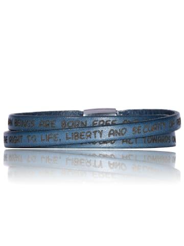 Gilardy Armbänder Edelstahl in Jeans