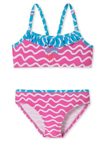 Schiesser Badeanzug in Pink