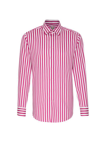 JACQUES BRITT Business Hemd Custom Fit in Rosa/Pink