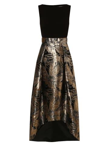 SWING Kleid in schwarz silber